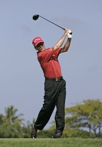 Mark McNulty during the first round of the 2007 MasterCard Championship at Hualalai held at Hualalai Golf Club in Ka'upulehu-Kona, Hawaii, on January 19, 2007. Photo by: Chris Condon/PGA TOURPhoto by: Chris Condon/PGA TOUR