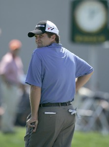 Robert Damron in action during the first round of the Bay Hill Invitational presented by MasterCard at the Bay Hill Club in Orlando, Florida on March 16, 2006.Photo by Michael Cohen/WireImage.com