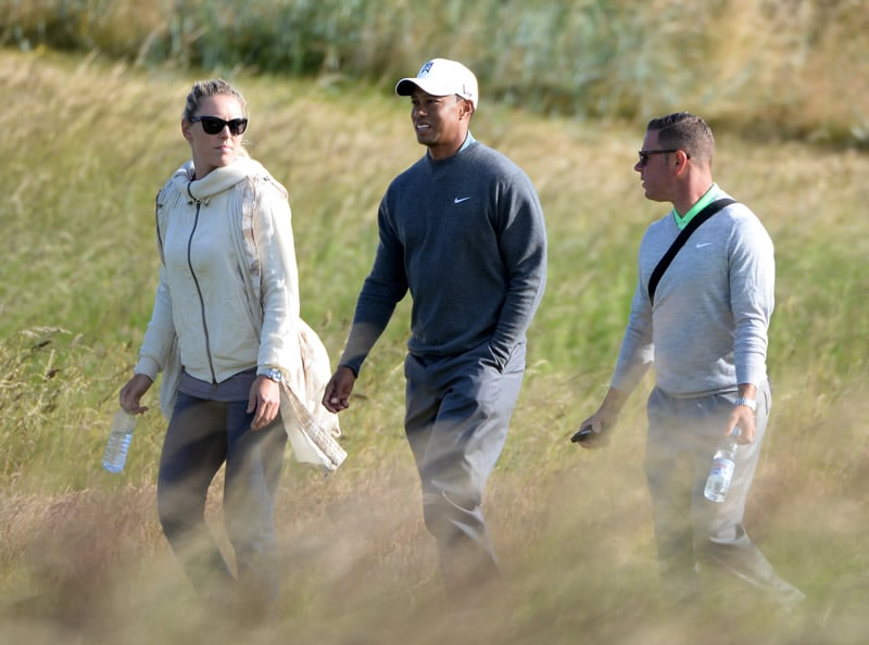 Tiger Woods, Lindsey Vonn, Sean Foley