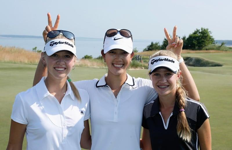 Jessica Korda, Michelle Wie, Nelly Korda