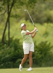Sherri Steinhauer in action during the third round of the 2006 Franklin American Mortgage Championship benefiting the Monroe Carell Jr. Children's Hospital at Vanderbilt at Vanderbilt Legends Club in Franklin, Tennessee on May 5, 2006.Photo by Steve Grayson/WireImage.com