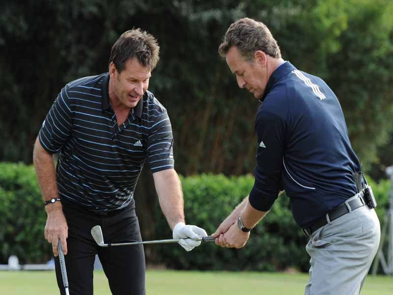 Sir Nick Faldo, Nick Faldo, Rich Lerner, 7 Nights at The Academy