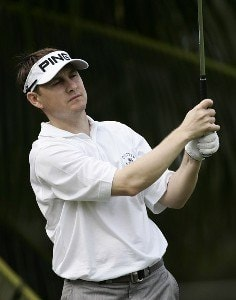 Heath Slocum on the 6th tee during the first round of the Sony Open in Hawaii held at Waialae Country Club in Honolulu, Hawaii, on January 11, 2007. PGA TOUR - 2007 Sony Open - First RoundPhoto by Sam Greenwood/WireImage.com