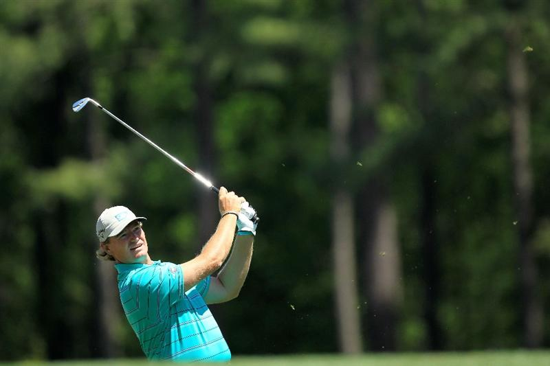 AUGUSTA, GA - APRIL 07:  Ernie Els of South Africa watches his tee shot on the 12th hole during the first round of the 2011 Masters Tournament at Augusta National Golf Club on April 7, 2011 in Augusta, Georgia.  (Photo by David Cannon/Getty Images)
