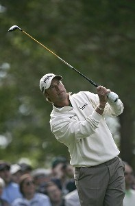 Chris DiMarco during the first round of the 2007 Masters at the Augusta National Golf Club in Augusta, Georgia, on April 5, 2007. The 2007 Masters - First RoundPhoto by Sam Greenwood/WireImage.com