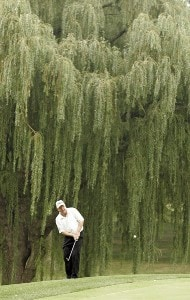 Billy Mayfair during the third round of the 88th PGA Championship at Medinah Country Club in Medinah, Illinois, on August 19, 2006.Photo by Hunter Martin/WireImage.com