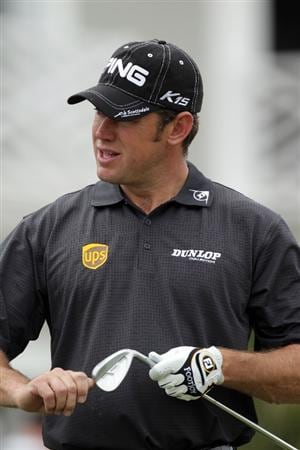 CASARES, SPAIN - MAY 17:  Lee Westwood of England working with some new wedges during practice for the Volvo World Match Play Championship at Finca Cortesin on May 17, 2011 in Casares, Spain.  (Photo by Ross Kinnaird/Getty Images)