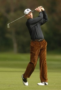 Bob Estes in action during the second round of the 2006 Nissan Open, Presented by Countrywide at Riviera Country Club in Pacific Palisades, California February 17, 2006.Photo by Steve Grayson/WireImage.com
