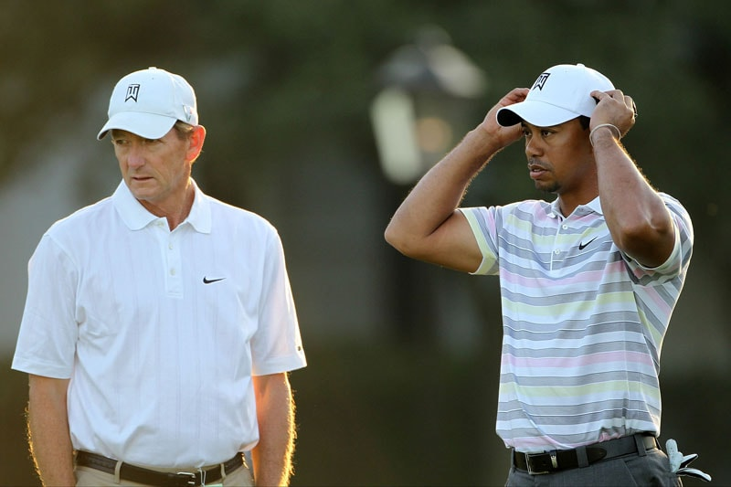 Hank Haney and Tiger Woods