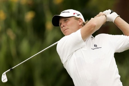 Mattias Eliasson during the second round of the 2005 Abama Open De Canarias at the Abama Golf Resort - October 7, 2005Photo by Pete Fontaine/WireImage.com