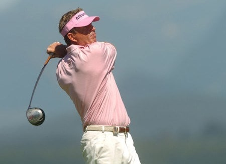 Dana Quigley in action during the second round of the 2005 Boeing Greater Seattle Classic at TPC at Snoqualmie Ridge in Snoqualmie, Washington August 20, 2005.Photo by Steve Grayson/WireImage.com