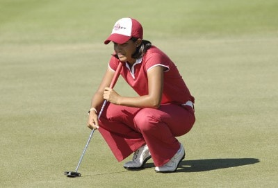Julieta Granada during the fourth and final round of the ADT Championship at the Trump International Golf Club in West Palm Beach, Florida on Sunday, November 19, 2006. Photo by Steve Levin/WireImage.com
