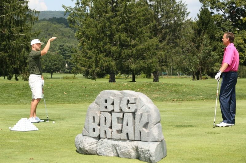 Big Break Academy Greenbrier, Michael Breed and James Lepp