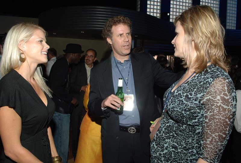 Elin Nordegren, Will Farrell and Vivica Paulin