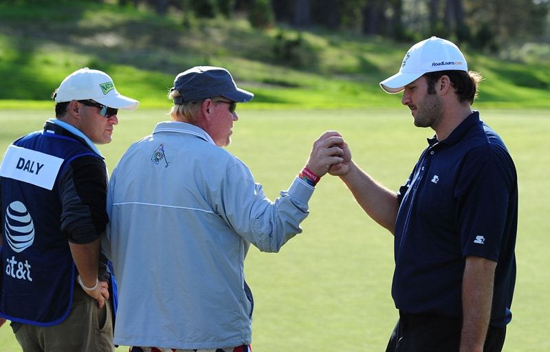 John Daly and Tony Romo