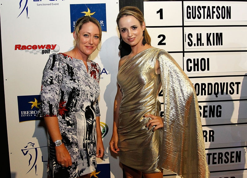 Cristie Kerr and Beatriz Recari
