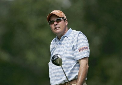 Rich Beem during the first round of the 88th PGA Championship at Medinah Country Club in Medinah, Illinois, on August 17, 2006.Photo by Christopher Condon/WireImage.com