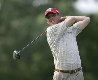 Jonathan Kaye during the first round of the Cialis Western Open on the No. 4 Dubsdread course at Cog Hill Golf and Country Club in Lemont, Illinois on July 6, 2006.Photo by Michael Cohen/WireImage.com