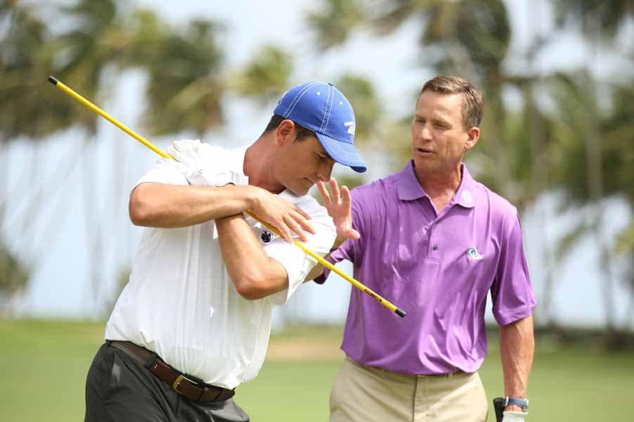 Swing Tip From Michael Breed