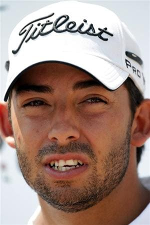 BARCELONA, SPAIN - MAY 05:  Pablo Larrazabal of Spain after the first round of the Open de Espana at the the Real Club de Golf El Prat on May 5 , 2011 in Barcelona, Spain.  (Photo by Ross Kinnaird/Getty Images)