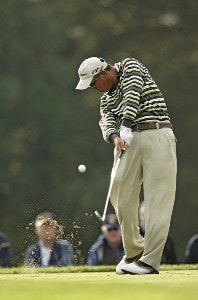 Toru Taniguchi during the third round of the 2006 WGC American Express Championship held at the Grove Golf Club in Watford, Great Britain on September 30, 2006. PGA TOUR - WGC - 2006 American Express Championship - Third RoundPhoto by Pete Fontaine/WireImage.com