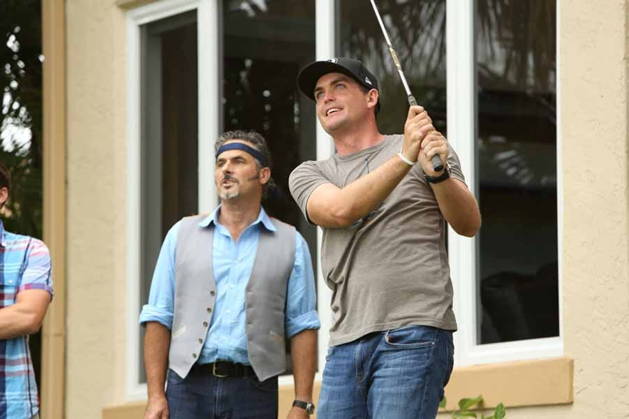 Keegan Bradley and David Feherty Having Fun