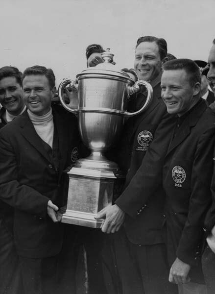 Charles Coe and Harvie Wood, 1959 Walker Cup