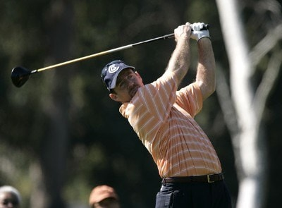 Rod Pampling in action during the first round of the PGA Tour's 2007 Nissan Open at Rivera Country Club in Pacific Palisades, California on February 15, 2007. PGA TOUR - 2007 Nissan Open - First RoundPhoto by Steve Grayson/WireImage.com