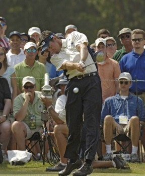 Mark Hensby during the third round of the 2005 U.S. Open Golf Championship at Pinehurst Resort course 2 in Pinehurst, North Carolina on June 18, 2005.Photo by Marc Feldman/WireImage.com