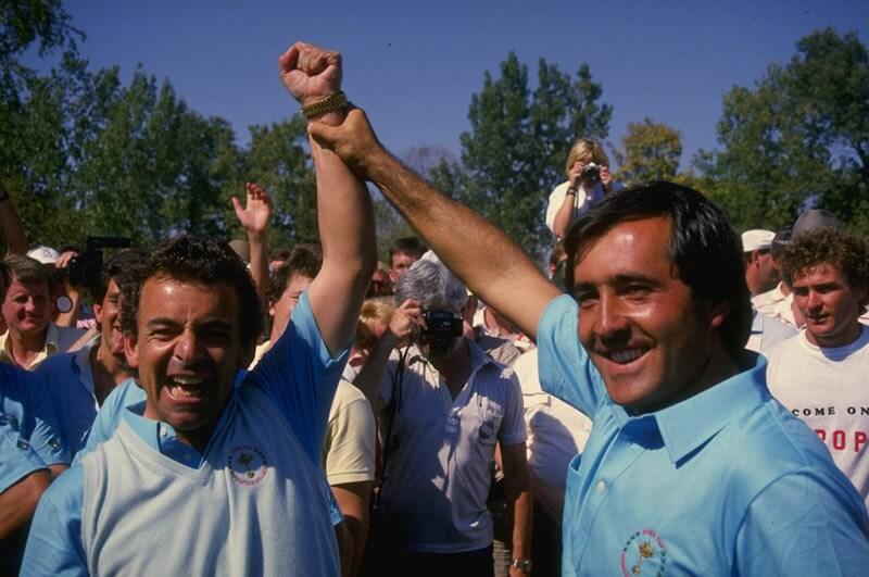 Seve Ballesteros and Tony Jacklin