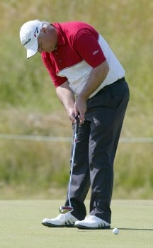 Stephen Dodd of Wales during practice for the 2005 Open de France at Le Golf National in St. Quentin, France on June 22, 2005.Photo by Alexanderk/WireImage.com