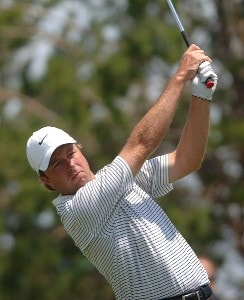 Craig Lile in action during the second round of the Nationwide Tour 2006 LaSalle Bank Open at The Glen Club in Glenview, Illinois on June 9, 2006.Photo by Steve Grayson/WireImage.com
