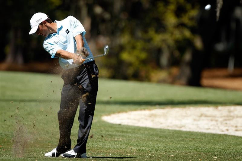 HILTON HEAD ISLAND, SC - APRIL 16:  Charles Howell III hits a shot on the 11th hole during the second round of the Verizon Heritage at the Harbour Town Golf Links on April 16, 2010 in Hilton Head lsland, South Carolina.  (Photo by Scott Halleran/Getty Images)
