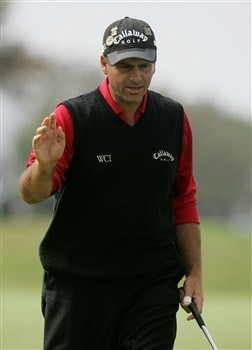 SAN DIEGO - JUNE 16:  Rocco Mediate walks up the third hole during the playoff round of the 108th U.S. Open at the Torrey Pines Golf Course (South Course) on June 16, 2008 in San Diego, California.  (Photo by Jeff Gross/Getty Images)