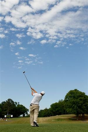 ATHENS, GA - APRIL 30:  Daniel Summerhays tees off the fifth hole during the second round of the 2010 Stadion Athens Classic at the University of Georgia Golf Course on April 30, 2010 in Athens, Georgia.  (Photo by Kevin C. Cox/Getty Images)