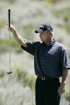 Bill Glasson in action during the third round at the Reno-Tahoe Open,  August 20,2005, held at Montreux GC, Reno, Nevada.Photo by Stan Badz/PGA TOUR/WireImage.com
