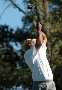 Jim Thorpe in action during the first round of the 2006 Charles Schwab Cup Championship at the Sonoma Golf Club, in Sonoma, California on October 26, 2006. Champions Tour - 2006 Charles Schwab Cup Championship - First RoundPhoto by Steve Grayson/WireImage.com