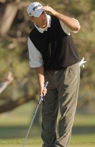 Michael Allen in action during the second round of the PGA TOUR's 2006 Buick Invitationa at Torrey Pines South in La Jolla, California January 27, 2006Photo by Steve Grayson/WireImage.com