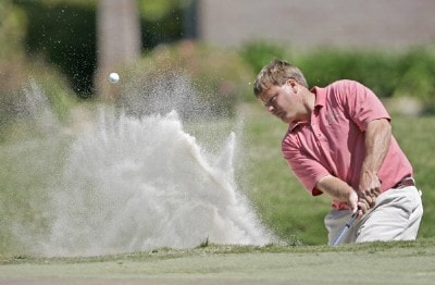 Mike Heinen in action during the final round of the Chitimacha Louisiana Open at Le Triomphe Country Club in Broussard, Louisiana on Sunday, March 26, 2006.Photo by Drew Hallowell/WireImage.com
