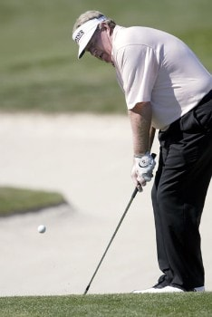 Andy Bean  during the final round of the 2005 JELD-WEN Tradition at The Reserve Vineyards and Golf Club, Sunday,  August 28, 2005.Photo by Allan Campbell/WireImage.com