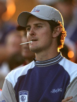 ORLANDO, FL - MARCH 24:  Justin Rose of England and member of Lake Nona team prepares to tee off on the 18th hole during the first day of the Travistock Cup at Isleworth Golf and Country Club on March 24, 2008 in Orlando, Florida.  (Photo by Warren Little/Getty Images)