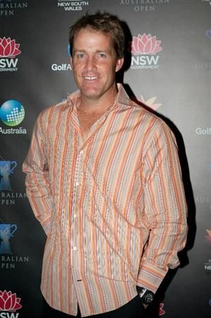 SYDNEY, AUSTRALIA - NOVEMBER 30: Stuart Appleby attends the Australian Open Championship Cocktail Party at Astral, Star City on November 30, 2010 in Sydney, Australia. (Photo by Steve Forrest/Getty Images)