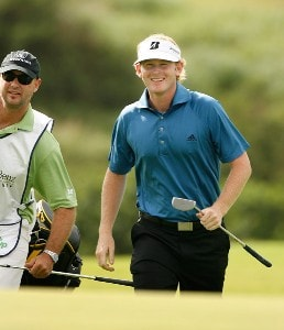 Brandt Snedeker smiles during the second round of the Mercedes-Benz Championship at the Plantation Course at Kapalua on January 4, 2008 in Kapalua, Maui, Hawaii. PGA TOUR - 2008 Mercedes-Benz Championship - Second RoundPhoto by Stan Badz/PGA TOUR/WireImage.com