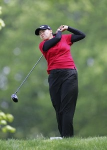 Dorothy Delasin during the second round of the 2006 Sybase Classic at Wygakyl Country Club in  New Rochelle, New York on May 20, 2006.Photo by Michael Cohen/WireImage.com