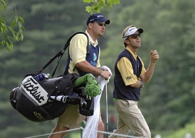 Brett Quigley during the second round of the Barclays Classic held at Westchester Country Club in Rye, New York on June 9, 2006.Photo by Al Messerschmidt/WireImage.com