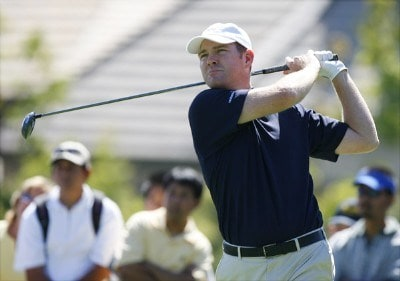 Troy Matteson during the fourth and final round of the Reno Tahoe Open held at Montreux Golf and Country Club in Reno, Nevada, on August 27, 2006.Photo by Stan Badz/PGA TOUR/WireImage.com