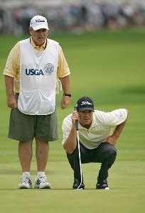 Arron Oberholser during the third round of the 2006 U.S. Open Golf Championship at Winged Foot Golf Club in Mamaroneck, New York on June 17, 2006.Photo by Sam Greenwood/WireImage.com