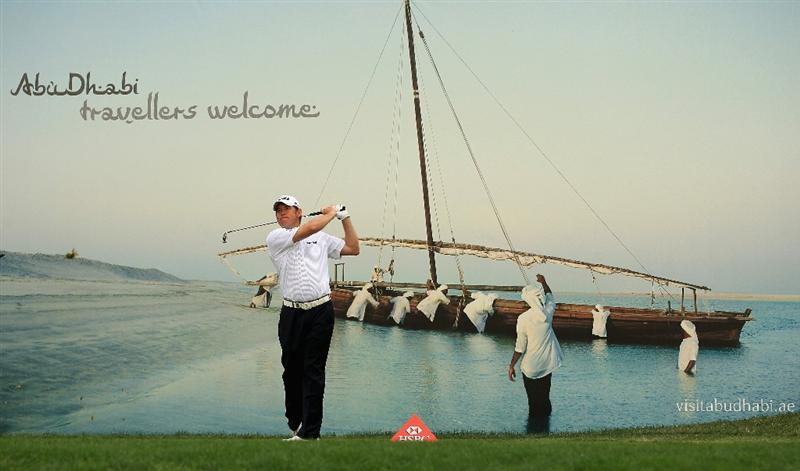 ABU DHABI, UNITED ARAB EMIRATES - JANUARY 21:  Lee Westwood of England hits his tee-shot on the 16th hole during the second round of The Abu Dhabi HSBC Golf Championship at Abu Dhabi Golf Club on January 21, 2011 in Abu Dhabi, United Arab Emirates.  (Photo by Andrew Redington/Getty Images)