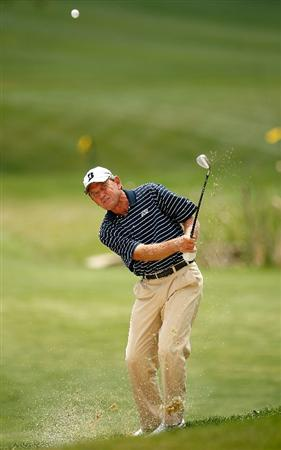 ENDICOTT, NY - JUNE 26: Nick Price chips to the 12th green during the first round of The Dick's Sporting Goods Open at En-Joie Golf Club on Friday, June 26, 2009 in Endicott, New York.  (Photo by Mike Ehrmann/Getty Images)