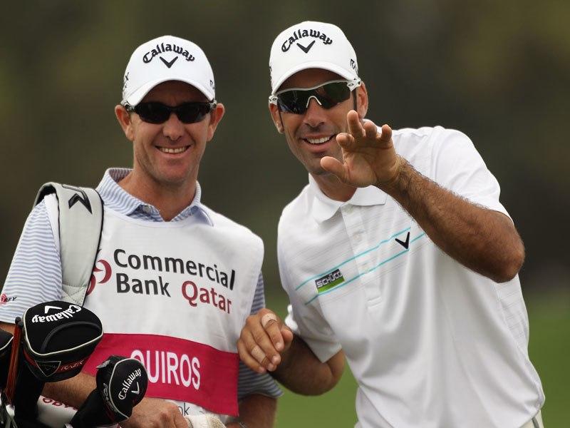 Alvaro Quiros and Michael Kerr